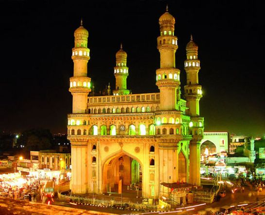 Hyderabad photos, Charminar - Bright and colourfull
