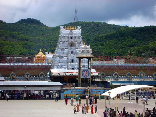 Tirupati photos, Tirumala Venkateswara Temple - The Entranceway