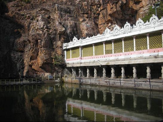 Tirupati photos, Kapila Theertham - The Tank
