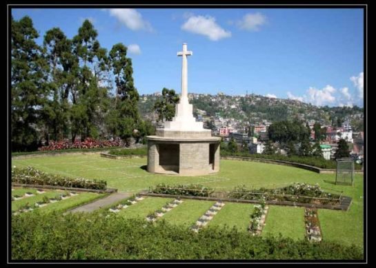 Kohima photos, Kohima War Cemetery - Structure