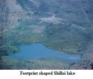 Phek photos, Shilloi lake - Footprint