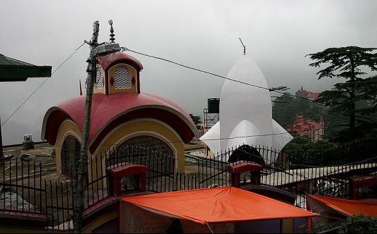 Shimla photos, Kali Bari Temple - View of the temple