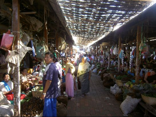 Imphal photos, Women's Market or Ima Keithel - Market