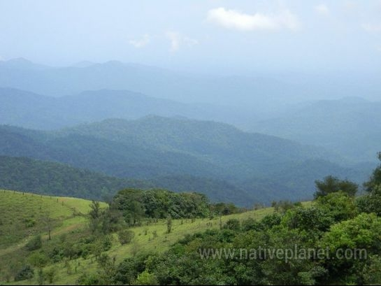 Coorg photos, Talacauvery - A view from Talacauvery