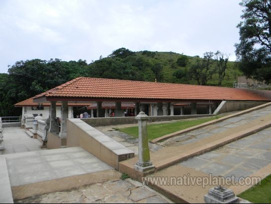 Coorg photos, Talacauvery - A view of Talacauvery temple