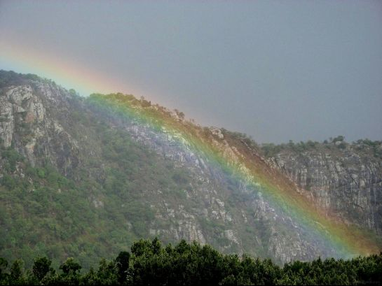 Yercaud photos, Tipperary View Point - A lovely sight of Rainbow