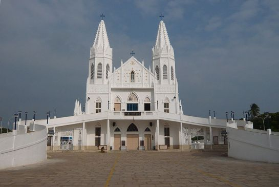 Velankanni photos, Velankanni Church - A view of the church