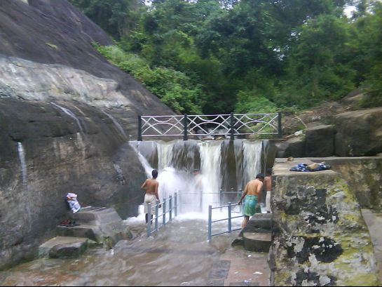 Courtallam photos, Courtallam Falls - Tiger Falls
