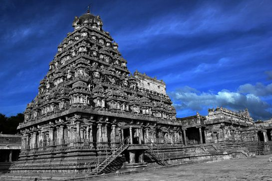 Darasuram photos, Airavatesvara temple - A Beautiful View