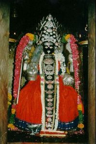Thanjavur photos, Punnainallur Mariamman - Idol of Sri Mariamman