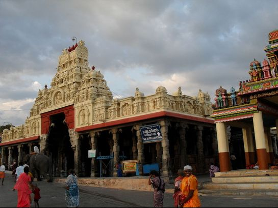 Thiruchendur photos, Thiruchendur Murugan Temple - A View