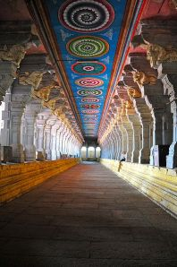 Rameshwaram photos, Sri Ramanathaswamy Temple - Temple Corridor
