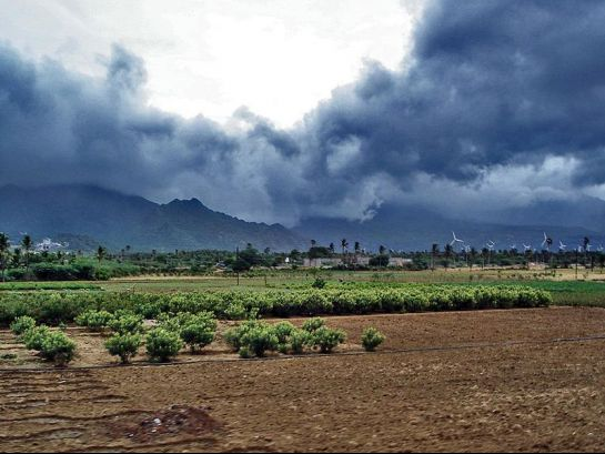 Nagarcoil photos, Monsoon clouds