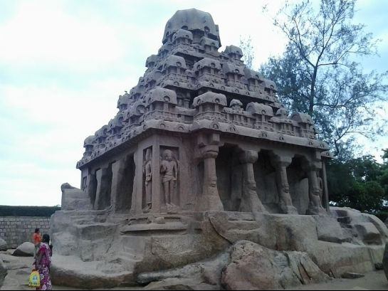Mahabalipuram photos, Five Rathas - A Temple