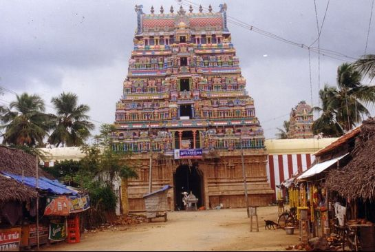 Kumbakonam photos, Patteswaram Durga Temple - A front view