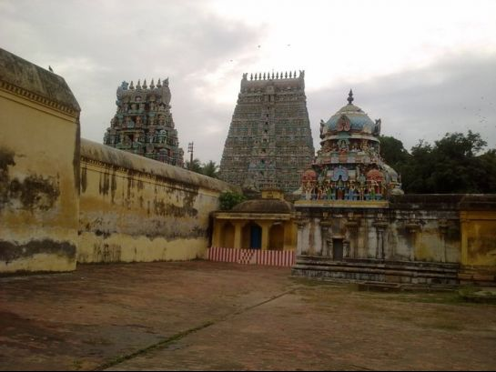 Kumbakonam photos, Someswara Temple - A distant view