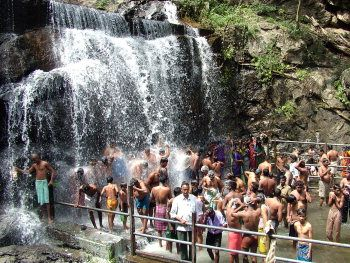 Theni photos, Suruli Falls