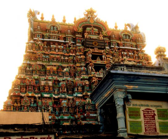 Tirunelveli photos, Nellaiappar Temple - Main Gopuram