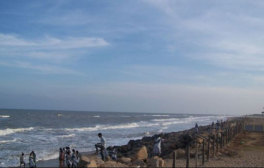 Poompuhar photos, Poompuhar Beach