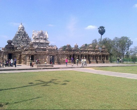 Kanchipuram photos, Kailasanathar Temple - Temple view