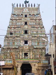 Thirunageswaram photos, Oppiliyappan temple - Gopuram