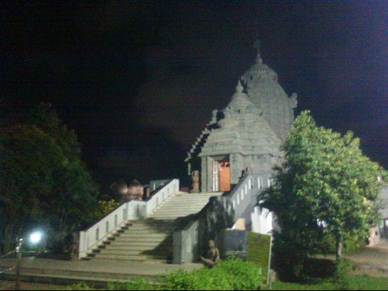 Chennai photos, Jagannath Temple - During nightitme