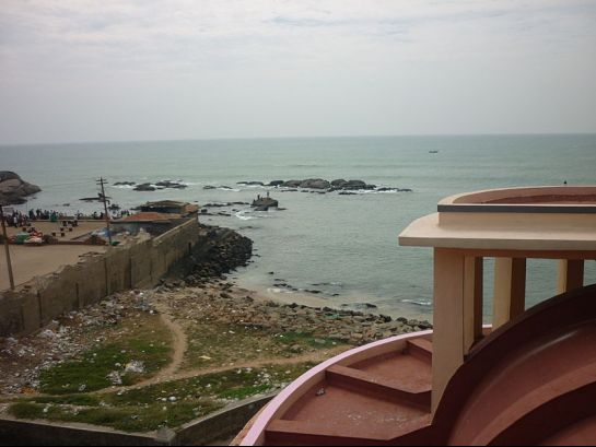 Kanyakumari photos, Gandhi Museum - Indian Ocean As Seen From The Mandapam