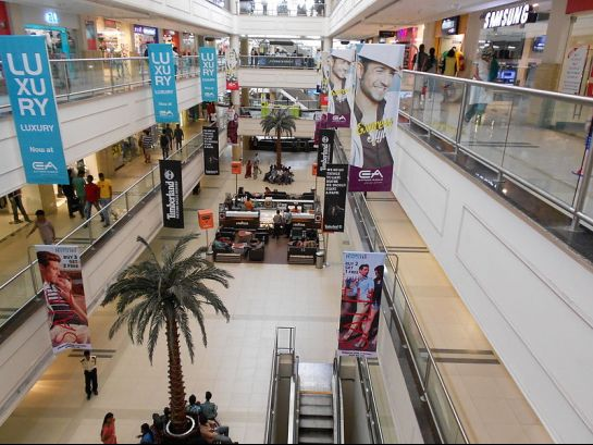 Chennai photos, Chennai Malls - Interiors