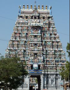 Karur photos, Kalyana Pasupatheeswarar Temple - Main Gopura
