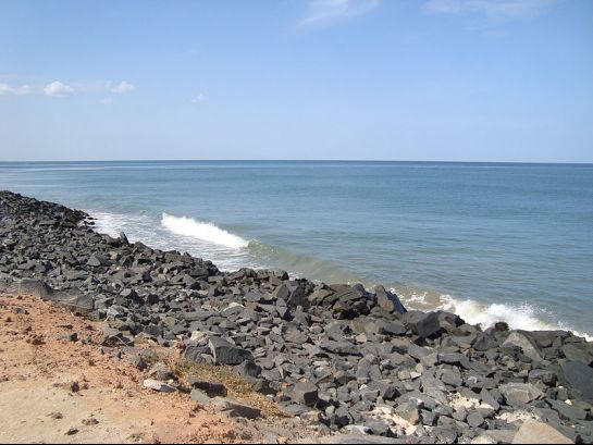 Pondicherry photos, Pondicherry Beach - A View