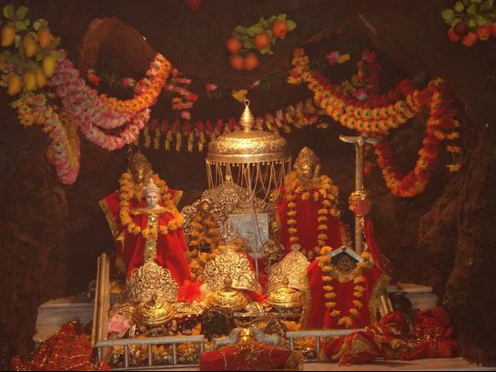 Jammu photos, Vaishno Devi Temple - Vaishno Devi Idol