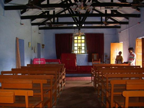 Pilibhit photos, Methodist Church - Prayer Hall