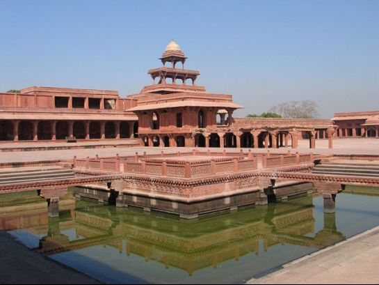 Fatehpur Sikri photos, Anup Talao - Aesthetic View