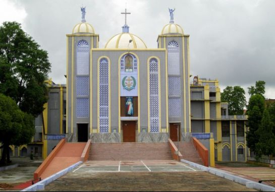 Jhansi photos, St. Jude's Shrine - Exterior View