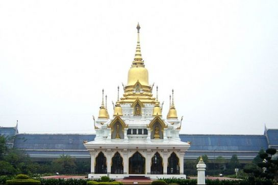 Kushinagar photos, Wat Thai Temple - Temple Tipped in Gold