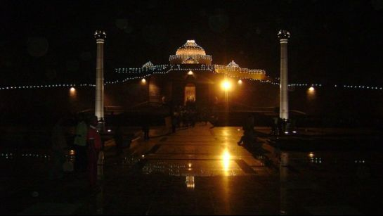 Saharanpur photos, Ambedkar Park - A night view