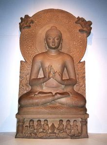 Sarnath photos, Sarnath Museum - An adorable Buddha