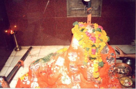 Ujjain photos, Chintaman ganesh Temple - A view of lord Ganesha