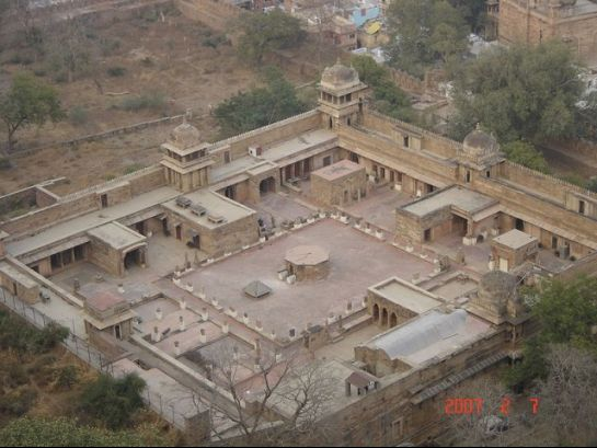 Gwalior photos, Gujari Mahal - Symbol of love