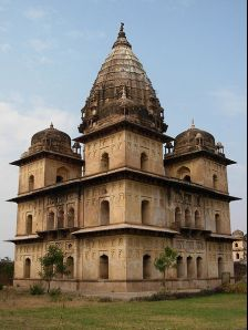 Orchha photos, Chhatris - The Memorial
