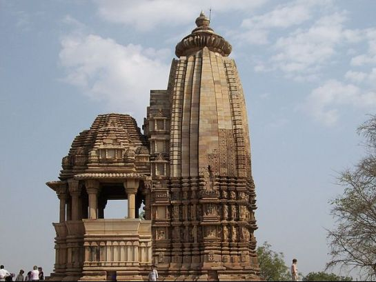 Khajuraho photos, Lakshmi Temple - Stone Architecture