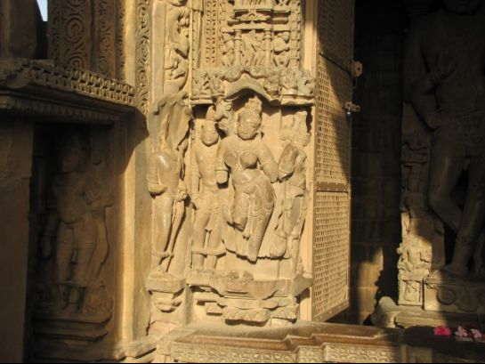 Khajuraho photos, Chatturbhuj Temple - Goddess Ganga