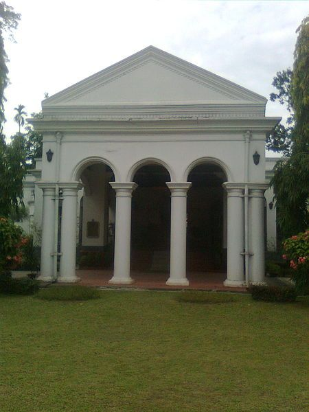 Jorhat photos, Thengal Bhavan - Front view of Bhavan