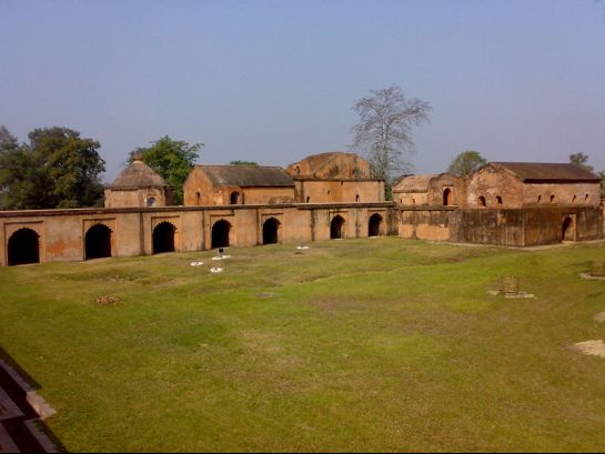 Sibsagar photos, Talatal Ghar - A view of the garden