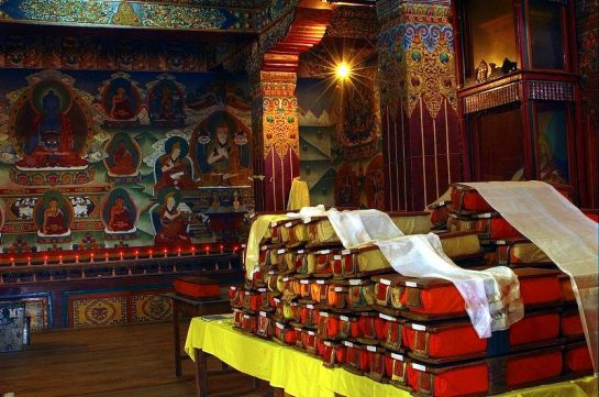 Tawang photos, Tawang Monestary - sacred books