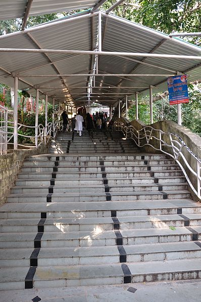 Ranchi photos, Pahari Mandir - A view of the stairway