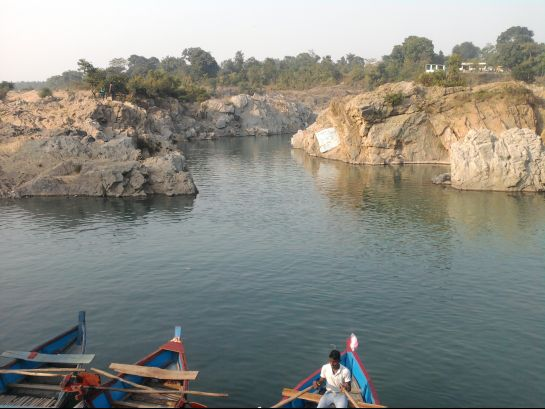 Ramgarh photos, Rajrappa Mandir - Another view of Damodar River