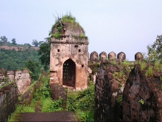 Palamu photos, Palamu Fort - A View