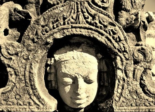 Sirpur photos, Laxman Temple - Close-up