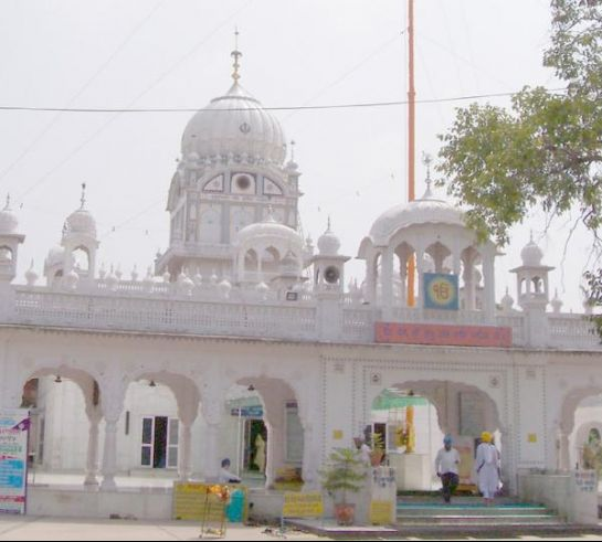 Mohali photos, Gurdwara Amb Sahib - A frontal view